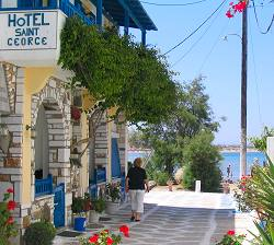 Naxos Hotel Saint George on the beach